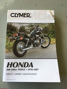 Honda 400-450 Twin service manual