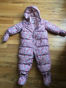 Gap Snow Suit Girls baby Size 18 - 24 months