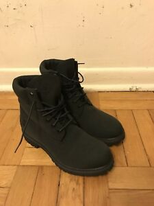 Black Timberlands Boots (Dead-stock, Sample)