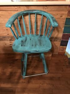 Chaise pivotante look vintage