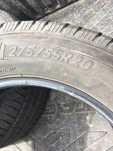 2 Michelin tires 275/55R/20