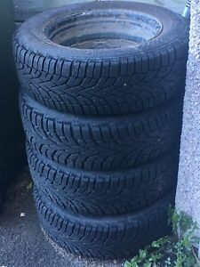 Winter tires (Pneus d'hiver) 195/65R/15T