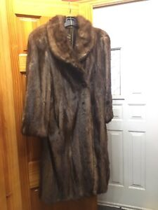 Fur coat bought from Dempsters furriers in Brantford, On