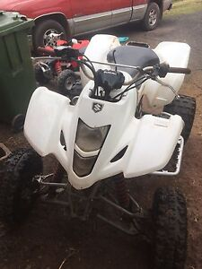 Need gone ltz 400 with papers