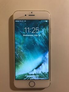 iPhone 6, 16gb(cracked screen) but otherwise works like new