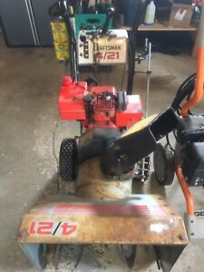 Craftsman 4/21 Snowblower
