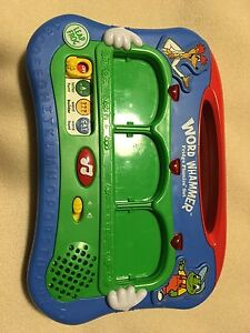 Leap frog word Whammer and fridge phonics plus numbers
