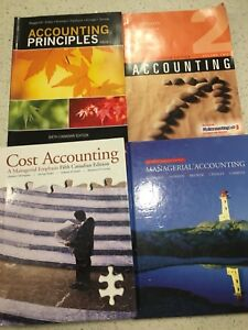 Business and Accounting Text Books - MSVU
