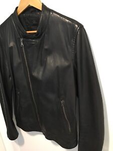 Banana republic leather jacket