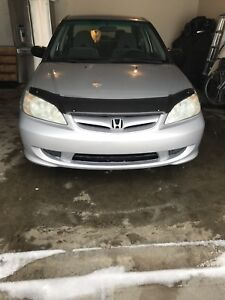 Mint condition 2004 civic with very low km