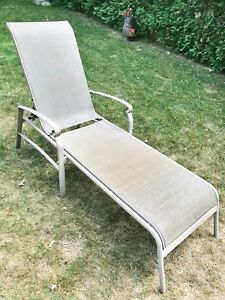Outdoor Patio chaise lounge