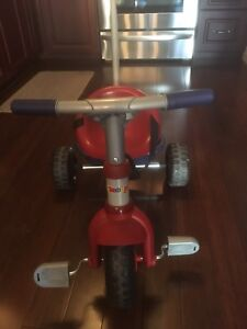 Smoby Trike with handle