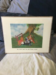 Winnie the Pooh Lithograph
