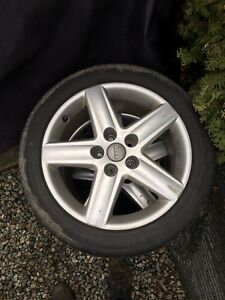 8x Audi Rims and tires