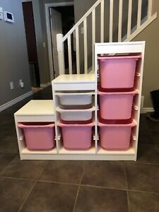 IKEA Trofast shelf and bins