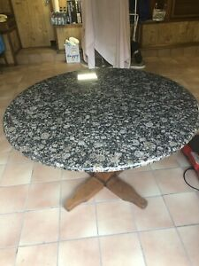 Granite Breakfast / Dining Table - round
