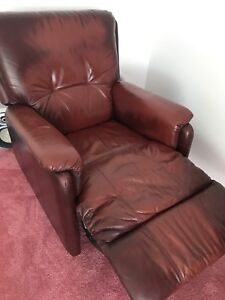 Leather Chair Recliner