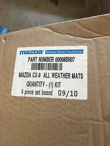 Mazda CX-9 OEM Winter Mats
