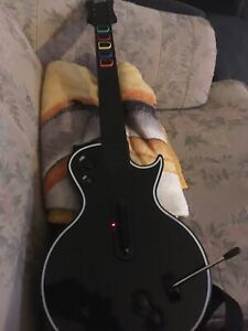 Guitar and single for ps3