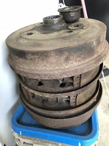 Classic Beetle brake drums and back plates