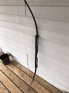 Authentic bow and arrows archery hunting fishing camping