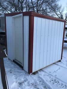 8x8 spray foam insulated shed