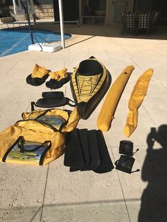 Sevylor inflatable kayak K1  CN-SEV 05619 A707