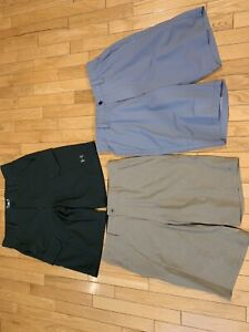 Men's under armour and O'Neil golf shorts size 32
