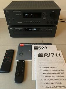 NAD 711 Receiver and 523 CD Player