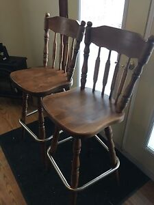 2 bar swivel stools