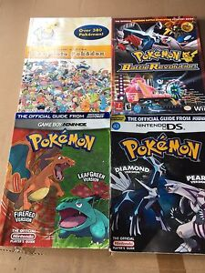 Pokemon books and others