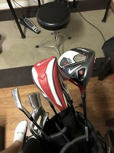 Nike golf set stiff flex right handed
