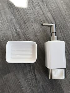 Soap Dish and Dispenser