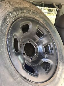 Nissan patrol wheels and tyres Logan Central Logan Area Preview