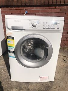 Eletrulox 8KG time manager front load washing machine