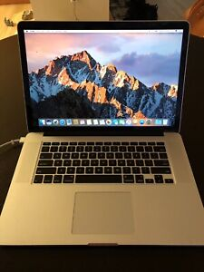 MacBook Pro 15 inch 256GB late 2013  model