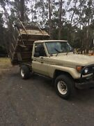 Toyota HJ75 Tipper Diesel Woodend Macedon Ranges Preview