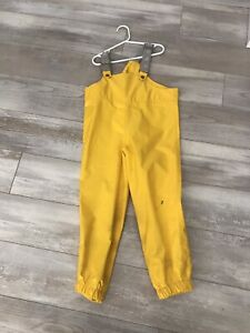 Mec Rain bib pants - size 6 child
