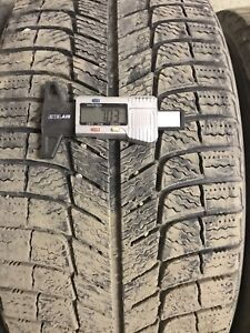 Four Michelin x ice x13 225/45R17 winter tires.