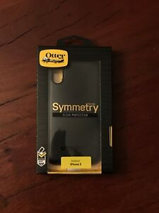 OtterBox Symmetry for iPhone X - Black *NEW*