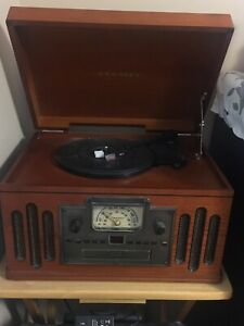 Record player/ radio/cd player and cassette player