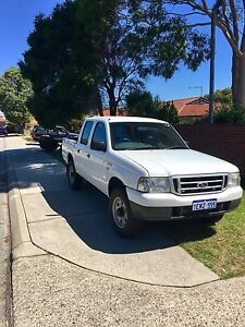 Ford Courier 2004 dual cab ute Tuart Hill Stirling Area Preview