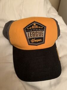 """Gongshow Hat """"Beer League Weapon"""""""
