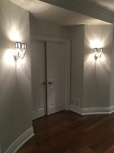 High-end sconces/wall lights for sale. Great price!