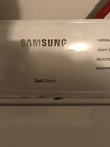 Year old Samsung Washer and Dryer set