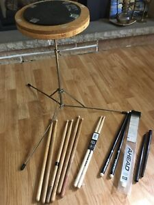 Drum pad & sticks