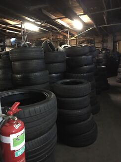 Used tyres at wholesale prices