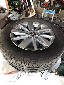 VW VOLKSWAGEN TIRES AND RIMS AND TIRES 5x112