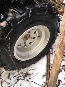 4/110 rims with stock tires