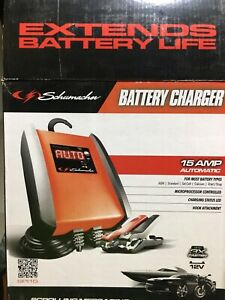 Schumacher 15amp battery charger/maintainer new in box Highland Park Gold Coast City Preview